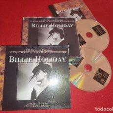 CDs de Música: BILLIE HOLIDAY DEJAVU RETRO GOLD COLLECTION 2CD 2001 EU BOX CAJA. Lote 289472553
