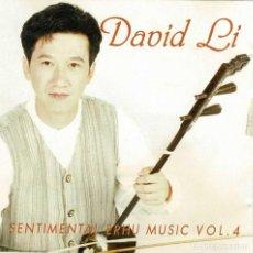 CDs de Música: DAVID LI - SENTIMENTAL ERHU MUSIC VOL. 4. CD. Lote 289472898