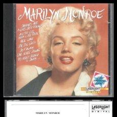CDs de Música: D. CD. MARILYN MONROE.. Lote 289473048