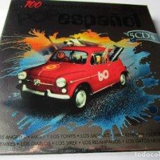 CDs de Música: CAJA CON 5 CD'S LOS BRINCOS , LOS SALVAJES , LOS GATOS NEGROS , LOS SIREX , LOS ANGELES ( VER LAS F. Lote 289473778