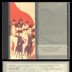 CDs de Música: D. CD. ZARZUELA. KATIUSKA, MOLINOS DE VIENTO Y DEMAS VOL 2.. Lote 289473828