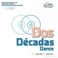 CDs de Música: DOS DÉCADAS DANCE. CD 3 Y CD 4. Lote 289475343
