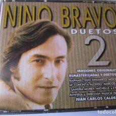CDs de Música: DOBLE CD NINO BRAVO DUETOS 2 : CON RAPHAEL , MOCEDADES , DUO DINAMICO ,. Lote 289479913