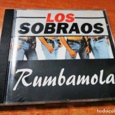 CDs de Música: LOS SOBRAOS RUMBAMOLA CD ALBUM DEL AÑO 1995 BLANCO Y NEGRO CONTIENE 12 TEMAS. Lote 289489508