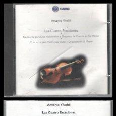 CDs de Música: D. CD. ANTONIO VIVALDI, LAS CUATRO ESTACIONES.. Lote 289496198