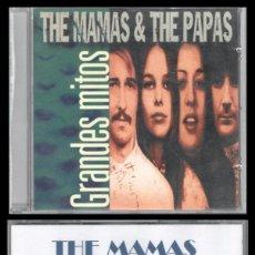 CDs de Música: D. CD. THE MAMAS & THE PAPAS. GRANDES MITOS.. Lote 289496858