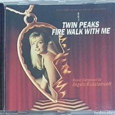 CDs de Música: CD TWIN PEAKS FIRE WALK WITH ME. BADALAMENTI. Lote 289497938