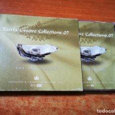 CDs de Música: TARIFA GROOVE COLLECTIONS.07 - 2 CD ALBUM 2007 RAUL ORELLANA & LA TANA PEP LLADRO RAY TASSOLA. Lote 289499863