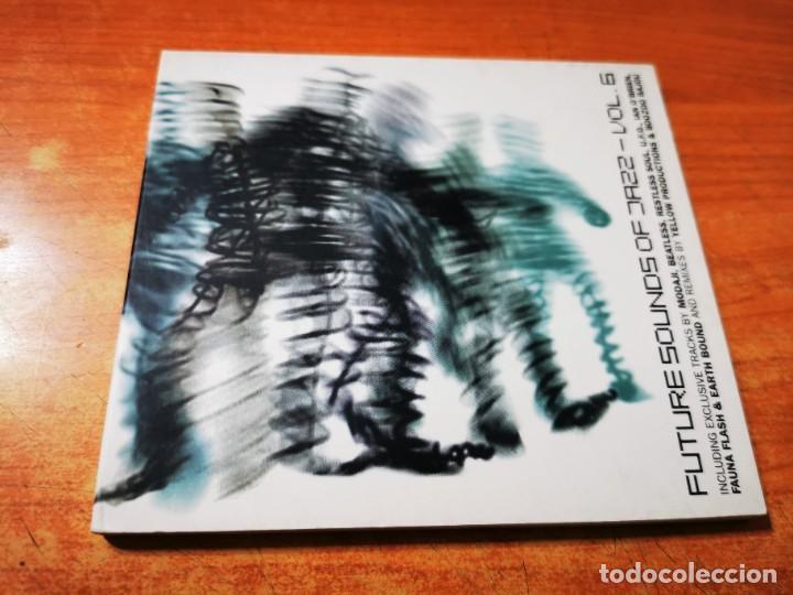 FUTURE SOUNDS OF JAZZ VOL 6 CD ALBUM DIGIPACK 1999 BEATLESS VICTOR SIMONELLI WAI-CHI TOSCA MODAJI (Música - CD's Jazz, Blues, Soul y Gospel)