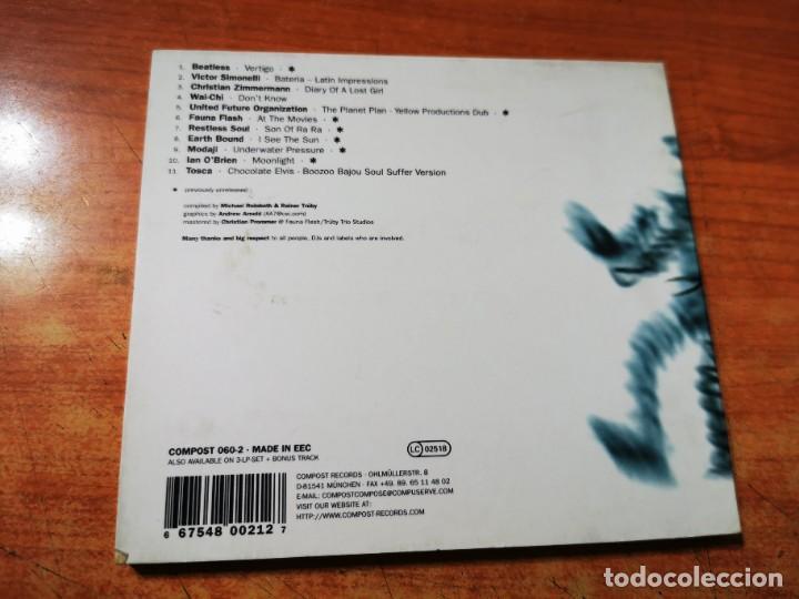 CDs de Música: FUTURE SOUNDS OF JAZZ Vol 6 CD ALBUM DIGIPACK 1999 BEATLESS VICTOR SIMONELLI WAI-CHI TOSCA MODAJI - Foto 3 - 289500958