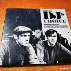 CDs de Música: SOULINUS & PUN THIS IS DJ'S CHOICE CD ALBUM DIGIPACK 2008 DUSTY THE JAZZINVADERS TOMBEE FLEVANS. Lote 289502718