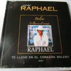 CDs de Música: CD LIBRO TODO RAPHAEL BOLERO : HISTORIA DE UN AMOR , ANGELITOS NEGROS , ENCADENADOS , TODA UNA VIDA. Lote 289506683