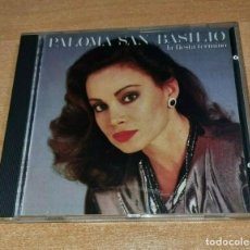 CDs de Música: PALOMA SAN BASILIO LA FIESTA TERMINO EUROVISION ESPAÑA 1985 CD ALBUM MUY RARO 1991 CONTIENE 10 TEMAS. Lote 289507858