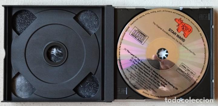 CDs de Música: Star wars doble CD - Foto 3 - 289507873