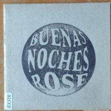 CDs de Música: BUENAS NOCHES ROSE - BUENAS NOCHES ROSE. Lote 289509083