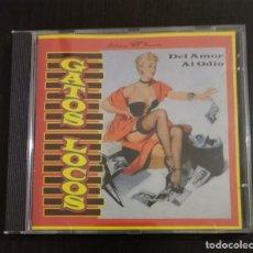 CDs de Música: GATOS LOCOS - DEL AMOR AL ODIO. Lote 289515478