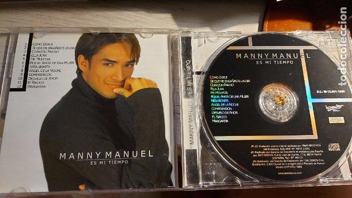 CDs de Música: CD.DE MANNY MANUEL ES MI TIEMPO - Foto 2 - 289515688