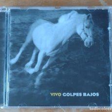 CDs de Música: GOLPES BAJOS - VIVO. Lote 289515863