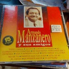 CDs de Música: CD.DE ARMANDO MANZANERO Y SUS AMIGOS. Lote 289516368