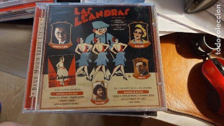 CD.DE LAS LEANDRAS LAS CASTIGADORAS -EL CABARET DE LA ACADEMIA (Música - CD's Otros Estilos)