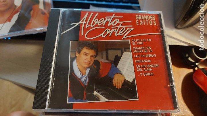 CD.DE ALBERTO CORTEZ GRANDES EXITOS (Música - CD's Otros Estilos)