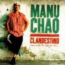 CDs de Música: C748 - MANU CHAO. CLANDESTINO. CD.. Lote 289518868