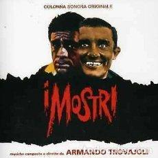 CDs de Música: I MOSTRI + IL GAUCHO / ARMANDO TROVAJOLI CD BSO. Lote 289526323