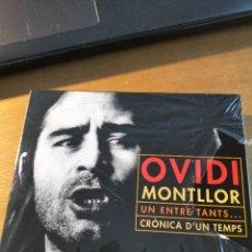 CDs de Música: RAR BOX. 2 CD'S. OVIDI MONTLLOR. UN ENTRE TANTS...& CRÒNICA D'UN TEMPS. Lote 289537878