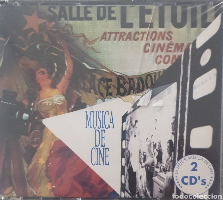 MUSICA DE CINE 2 CDS. (Música - CD's Bandas Sonoras)