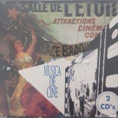CDs de Música: MUSICA DE CINE 2 CDS.. Lote 289562713