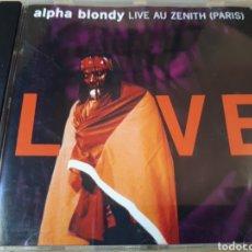 CDs de Música: ALPHA BLONDY LIVE AU ZENITH PARIS. Lote 289567858