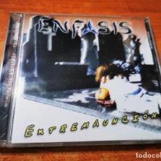 CDs de Música: ENFASIS EXTREMAUNCION CD ALBUM ESPAÑA HEAVY METAL ROCK ESPAÑA CONTIENE 5 TEMAS MUY RARO. Lote 289574038
