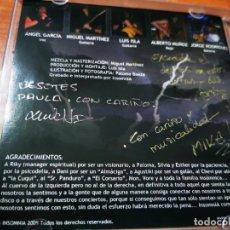 CDs de Música: INSOMNIA CD ALBUM DEL AÑO 2009 HEAVY METAL AUTOGRAFOS CONTIENE 7 TEMAS FIRMADO MUY RARO ROCK. Lote 289575898