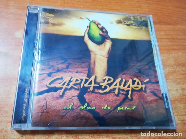 CARTA BALADI EL OLMO DA PERAS CD ALBUM DEL AÑO 2009 CONTIENE 13 TEMAS ROCK RARO (Música - CD's Rock)