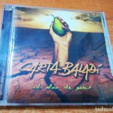 CDs de Música: CARTA BALADI EL OLMO DA PERAS CD ALBUM DEL AÑO 2009 CONTIENE 13 TEMAS ROCK RARO. Lote 289576553