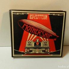 CDs de Música: DISCO 2 X CD+ DVD. LED ZEPPELIN – MOTHERSHIP. COMPACT DISC.. Lote 289587668