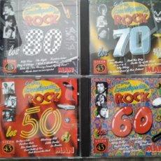 CD de Música: LA GRAN ENCICLOPEDIA DEL ROCK 4 CD´S. AÑOS 50, 60, 70 Y 80. Lote 289590138