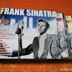 CDs de Música: FRANK SINATRA GRANDES EXITOS - 2 CD ALBUM CON SOBRECUBIERTA DE CARTON DEL AÑO 2005 ESPAÑA 24 TEMAS. Lote 289613588
