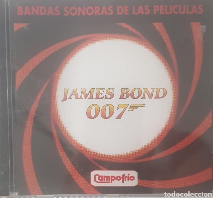 BANDAS SONORAS DE LAS PELICULAS DE JAMES BOND 007 (Música - CD's Bandas Sonoras)