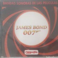 CDs de Música: BANDAS SONORAS DE LAS PELICULAS DE JAMES BOND 007. Lote 289613703
