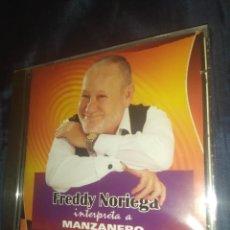 CDs de Música: FREDDY NORIEGA - INTERPRETA A MANZANERO CD. Lote 289630383
