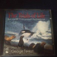 CDs de Música: GEORGE FENTON – THE TRIALS OF LIFE CD SOUNDTRACK TV BBC. Lote 289631423