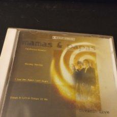"""CDs de Música: CD MAMAS & PAPAS """" DREAMIN LIVE """". Lote 289631568"""
