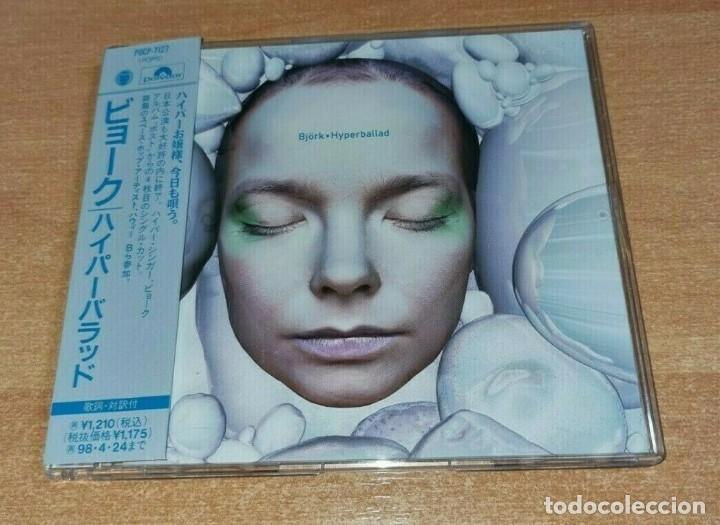 BJORK HYPERBALLAD + 3 REMIXES CD SINGLE JAPONES CON OBI DEL AÑO 1996 JAPON CONTIENE 4 TEMAS RARO (Música - CD's Pop)