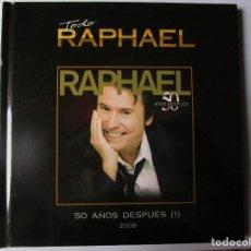 CDs de Música: CD LIBRO TODO RAPHAEL 50 AÑOS DESPUES ( 1 ) DUETOS CON SERRAT , SABINA ; VICTOR Y ANA , BUMBURY ,. Lote 289632123