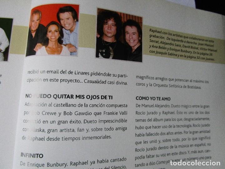 CDs de Música: CD LIBRO TODO RAPHAEL 50 AÑOS DESPUES ( 1 ) Duetos con Serrat , Sabina ; Victor y Ana , Bumbury , - Foto 3 - 289632123
