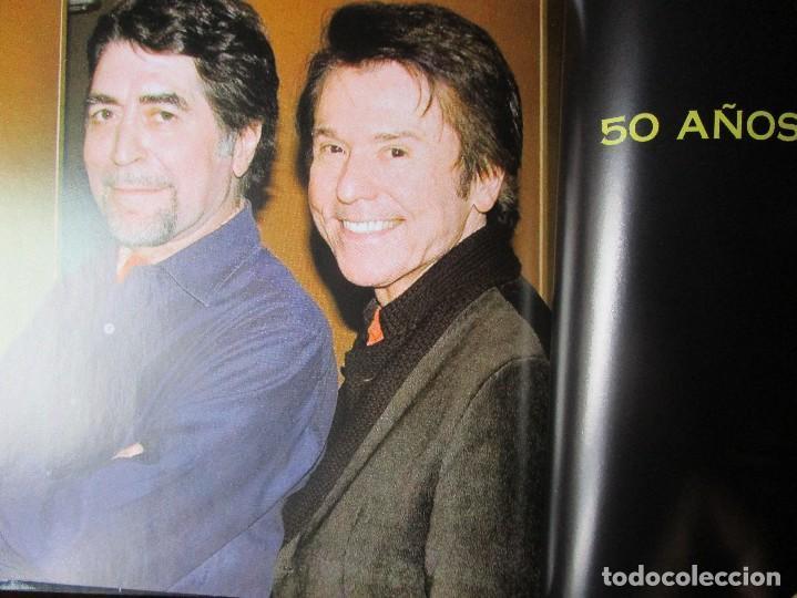 CDs de Música: CD LIBRO TODO RAPHAEL 50 AÑOS DESPUES ( 1 ) Duetos con Serrat , Sabina ; Victor y Ana , Bumbury , - Foto 4 - 289632123