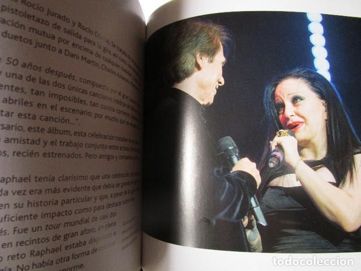 CDs de Música: CD LIBRO TODO RAPHAEL 50 AÑOS DESPUES ( 1 ) Duetos con Serrat , Sabina ; Victor y Ana , Bumbury , - Foto 5 - 289632123