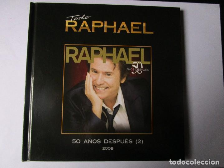 CD LIBRO TODO RAPHAEL 50 AÑOS DESPUES ( 2 ) DUETOS MIGUEL BOSE, V. FERNANDEZ , MIGUEL RIOS , ALASKA (Música - CD's Melódica )