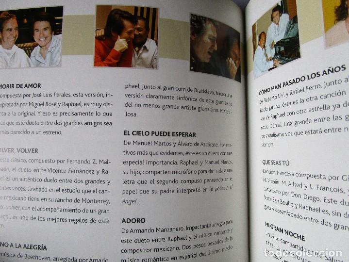 CDs de Música: CD LIBRO TODO RAPHAEL 50 AÑOS DESPUES ( 2 ) Duetos Miguel Bose, V. Fernandez , Miguel Rios , Alaska - Foto 3 - 289632398